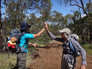 Camino Salvado Pilgrim Trail - October 2015