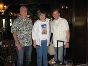 Richard Johnson, Tamar Boussi & James Autry