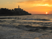 Building over looking the sea, Yaffo Is.