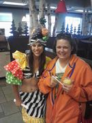 Me and the Fruit Lady