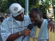 KING (DRTYBSMNT MULTIMEDIA) INTERVIEWS R&B ARTIST LOGAN @ PARK TOUR