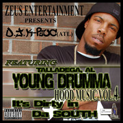 young drumma front of cd cover