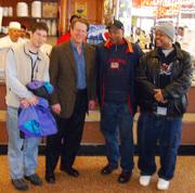 David Koltai,Al Gore ,Greg Riles , Norman Spivey cropped
