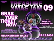 Treasure Xmas Jam Prom flyer