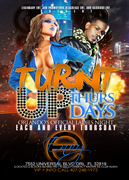 LE-Turn't Up Thurs 5x7