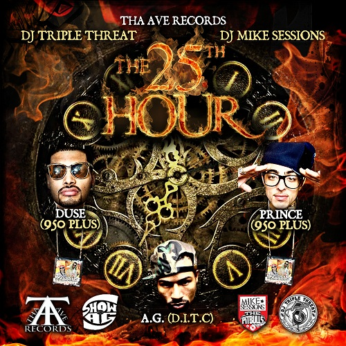 25th hour (Front cover)