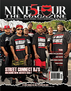 STREET CONNECT - COVER OF 954 MAGAZINE