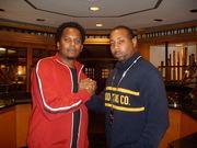 "Legendary Hip Hop Artist Special Ed and Frankie""DJ Diamond Lane"" at The Core Retreat XIII Atl 2010"