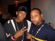 "MC Shan and Frankie""DJ Diamond Lane"" at the Core Retreat XIII 2010"