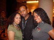 "Publicist Tonya Rose, DJ/CEO Frankie""Diamond""Lane, and Talia Co-Founder of Hip Hop Grows Up"