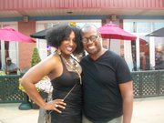 me and andre harrell before philly soul search contest