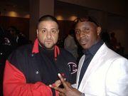 Daniel Azure with DJ Khalid