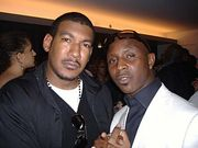 Daniel Azure with Hen Roc of Bad Boy