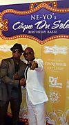 Daniel Azure with Neyo at his VIP Birthday Bash
