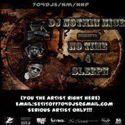 Dj Nothin Nice 704dj - No Time 4 Sleepin
