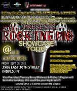 ROCK THE MIC Flyer Indianapolis, IN