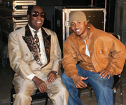 Breaka and Clarence Carter