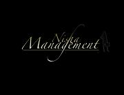 Nisha Managment Logo (2012) black