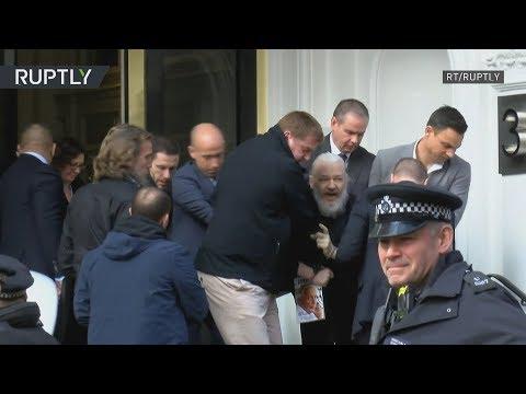 WikiLeaks founder Julian 'Gandalf' Assange arrested