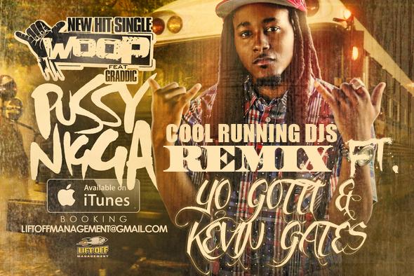 Woop - Pussy Nigga CRDJS Remix artwork