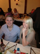 Fun and frolics at the Night owls Christmas doo