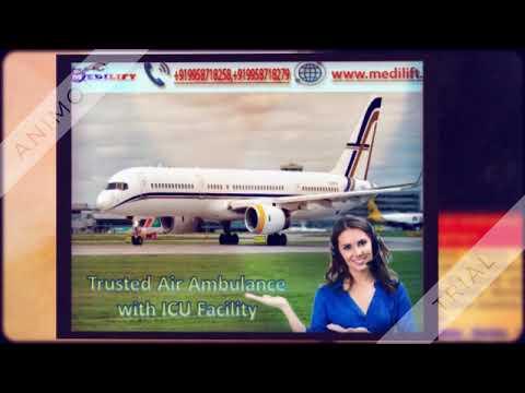 Pick Best Air Ambulance Service in Dibrugarh with ICU Facility