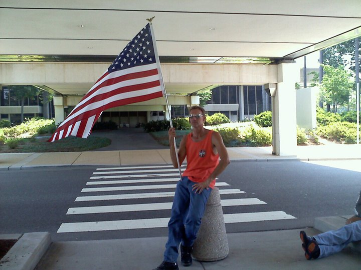Patriot Guard Rider welcome home mission.