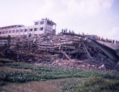Spectrum factory collapse Bangladesh 2005
