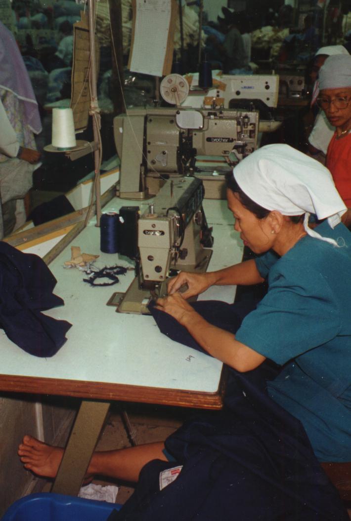 Jakarta factory Worker