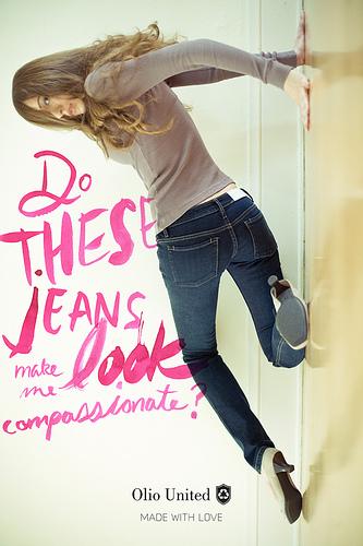 compassionate jeans
