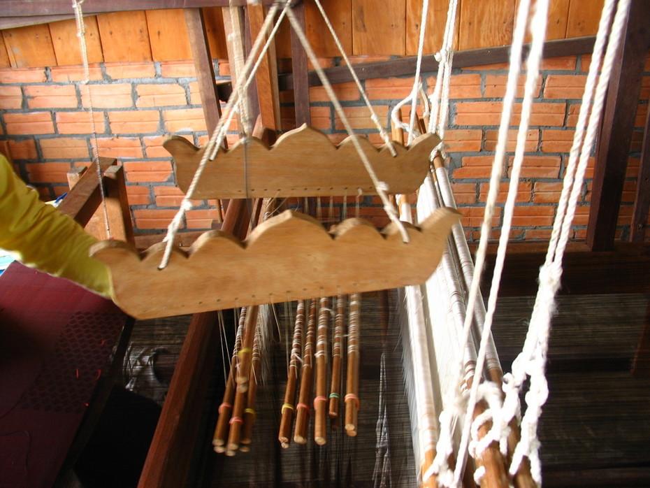 Traditional Khmer Loom