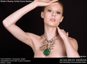Acailawen Designs Green Couture Jewelry