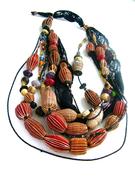 Barkcloth Beads