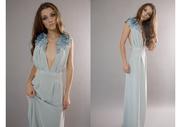Silk flower dress