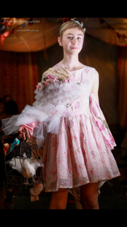 Pink Dress Reimagined couture
