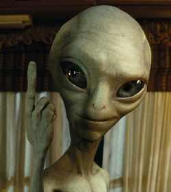the cosmic finger