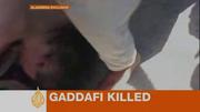 MUAMMAR AL GADDAFI alleged death video stills / screen caps