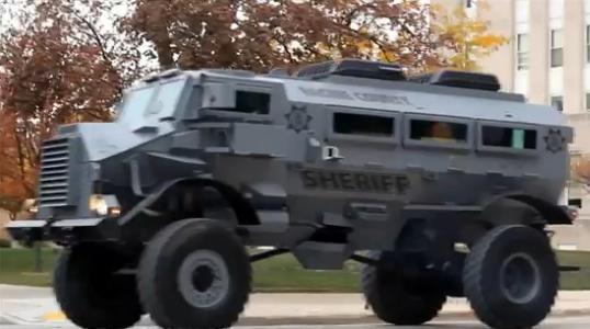 Milwaukee Police Purchase Massive Tank To Patrol Streets