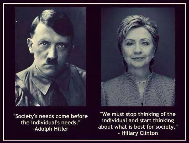 Hitler vs Hillary