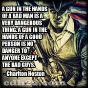 A Gun in the Hands ...