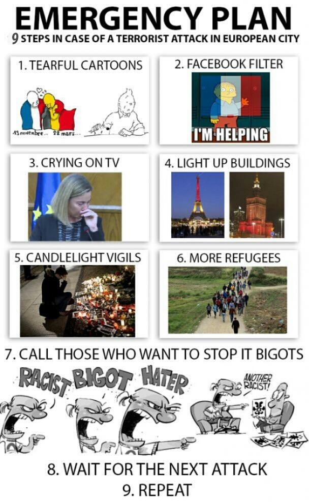 Emergency Plan - 9 Steps After Attack On A European City