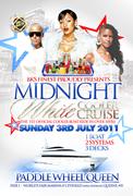 Sun. July 3rd Midnight White Boatride