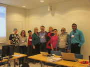 A group picture at EdMedia 2014