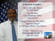 Jurupa Valley for Mayor Candidate
