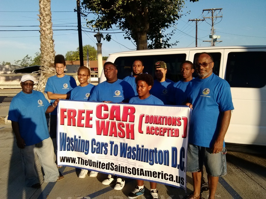 """At Risk Youth, """"ROAD TRIP AMERICA TO WASHINGTON D.C."""""""