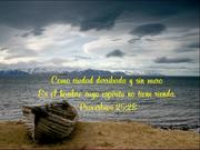 Proverbios 25.28