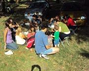 dia de picnic con los hermanos