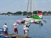 Oberto on the sling