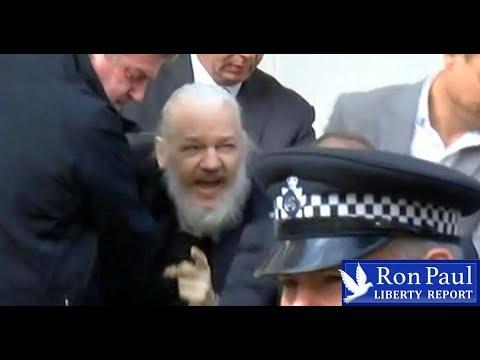 US Henchmen Violently Arrest Assange! Show Trial To Follow.