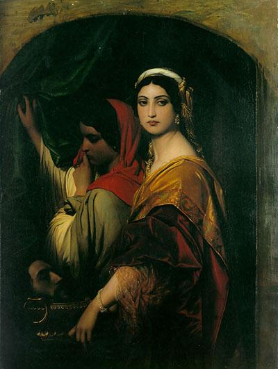 Herodias_by_Paul_Delaroche 1843